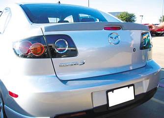 Спойлер сабля тюнинг Mazda 3
