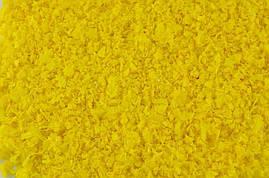 Конфетти хлопья желтые, 50 грамм