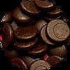 Бельгийский экстра черный шоколад  (монетки)
