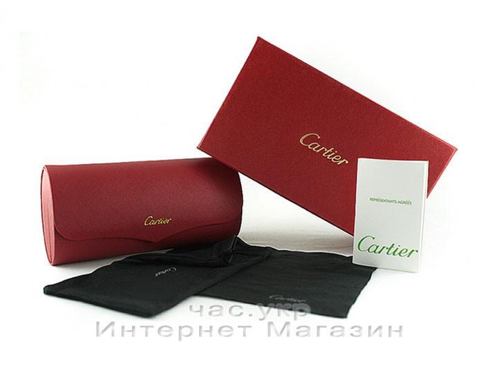 Футляр для солнцезащитных очков Cartier комплект чехол картье дизайн реплика
