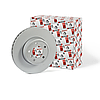 Передний тормозной диск на Рено Логан 1, Сандеро 1 FerodoDDF055