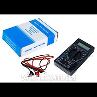 Цифровой мультиметр 832, напряжение, ток, сопротивление, температура, 200MA/250V, мультиметр, измерительный прибор мультиметр, прибор для измерения