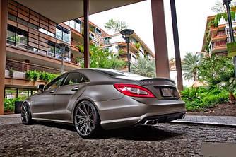 Спойлер сабля тюнинг Mercedes CLS W218 стиль AMG