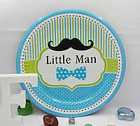 Тарелки для детского праздника Little Man 18 см