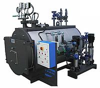 Газовый паровой котел Ivar BLP 1250 кг пара в час ( давление до 0,98 бар )