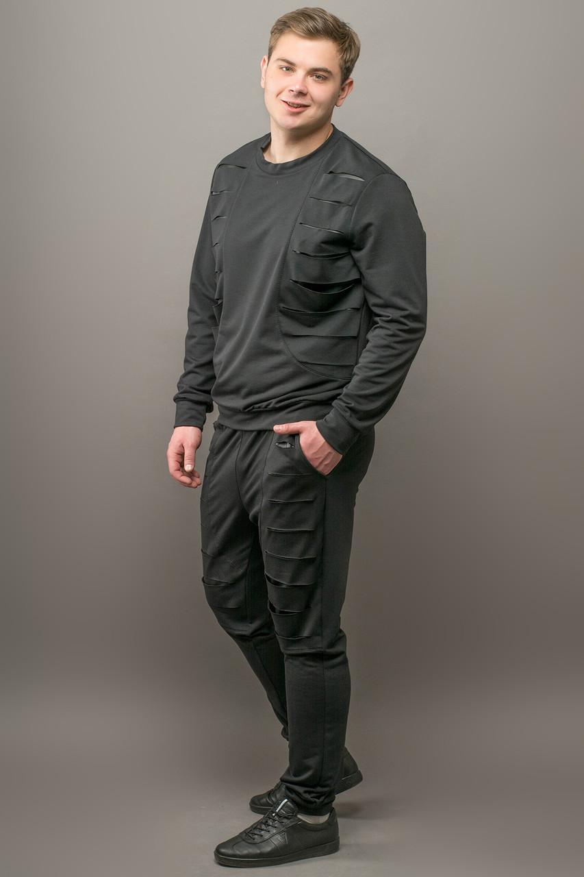 Мужской спортивный костюм Эполь, цвет черный / размерный ряд 50,52