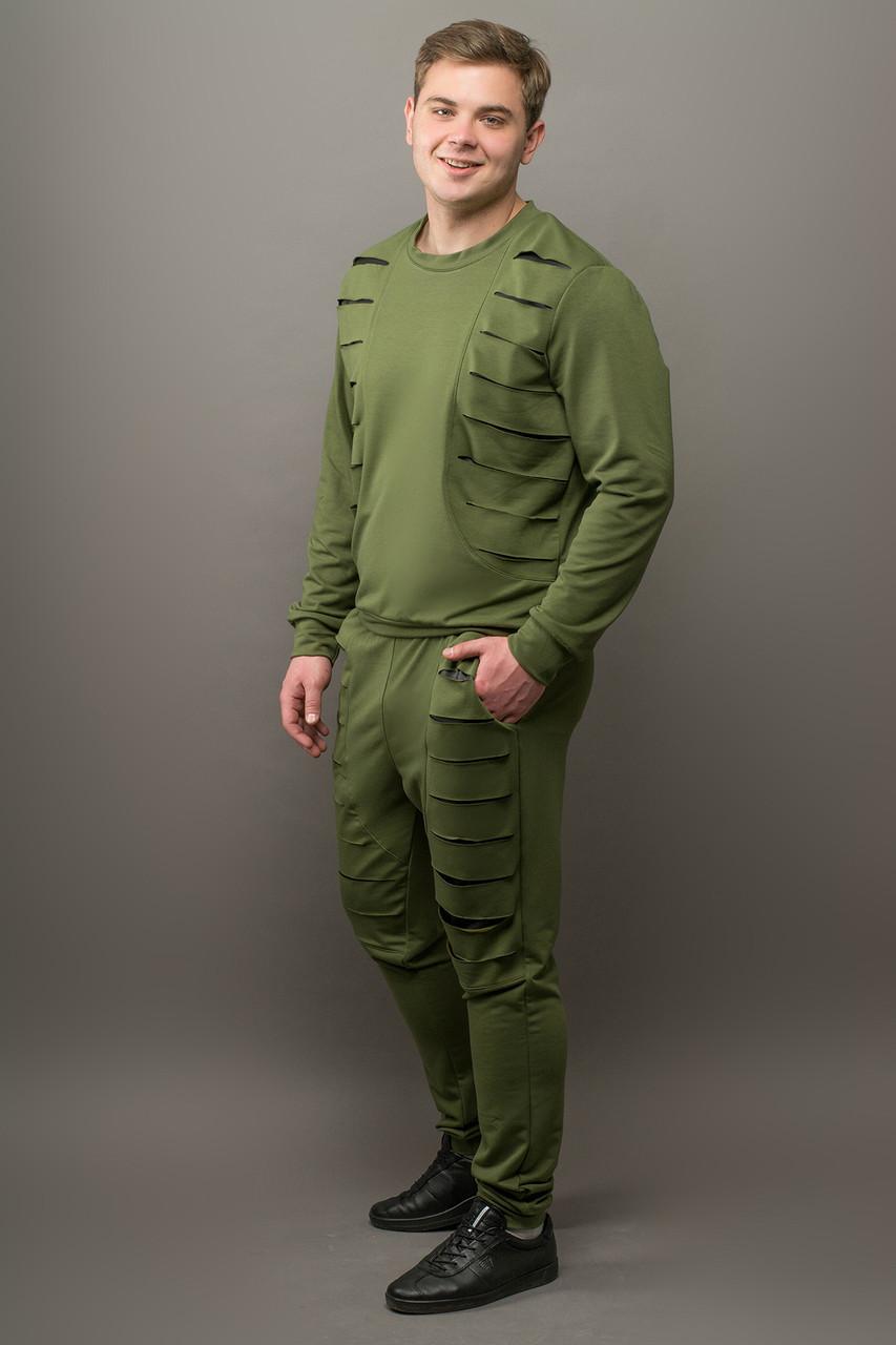 Мужской спортивный костюм Эполь, цвет хаки / размерный ряд 48,50,52,54