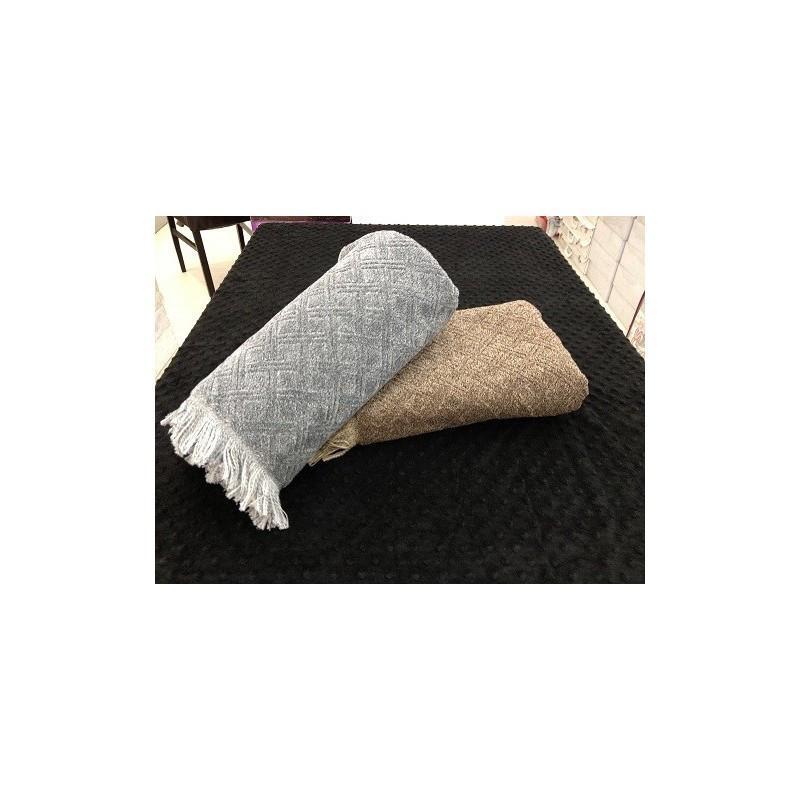 Полотенце Tac - Gilbert серое 50*90 см