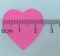 Конфетти сердечки маленькие, розовые, 100 грамм, фото 1
