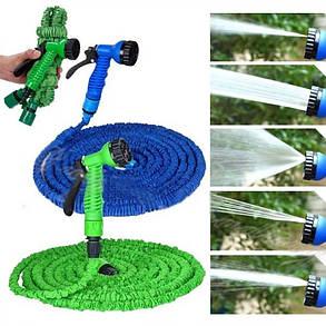 Шланг для полива Magic Hose 30 м / 100 ft ( садовый стрейтч шланг ), фото 2
