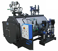 Газовый паровой котел Ivar BLP 2500 кг пара в час ( давление до 0,98 бар )