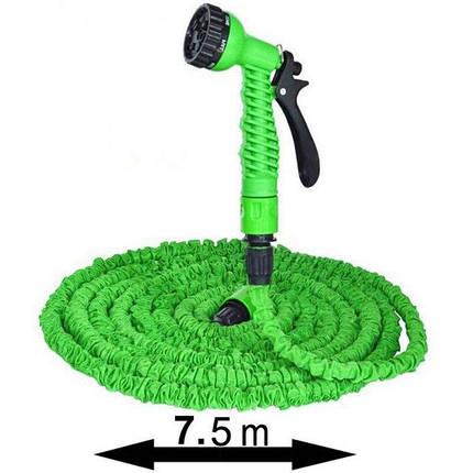 Стрейтчевый поливочный шланг Magic Hose 7,5м / 25 ft ( шланг для полива ), фото 2