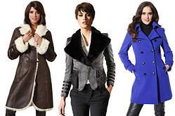 Верхняя женская одежда (шубы, дубленки, куртки, пальто, пуховики, плащи)
