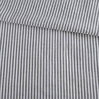321057492 - Вискоза рубашечная в бело-серую полоску 3мм ш.135