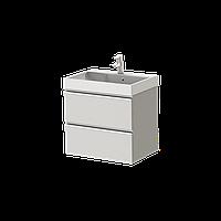 Тумба с раковиной Ювента Savona Sv-60 белая