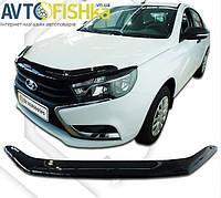 """Мухобійка VW Caddy III """"VORON"""" (з 2004-2010р.в) (без вирізу під емблему)"""