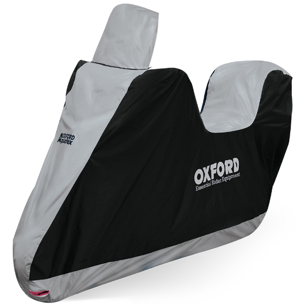 Чехол на мотоцикл, моточехол OXFORD Aquatex Highscreen Topbox Scooter Cover Размер S