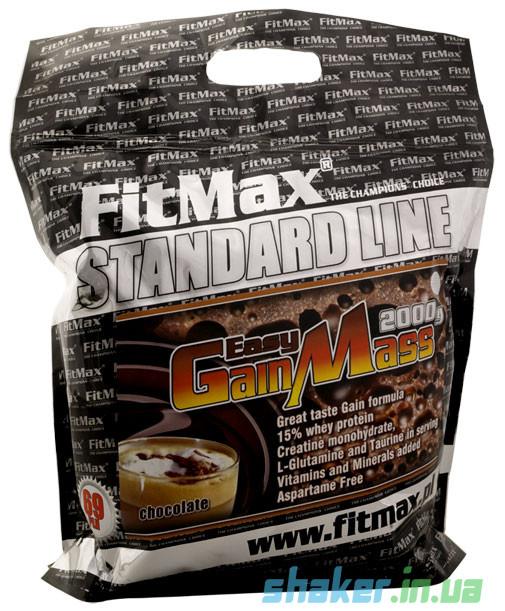 Гейнер для набора массы FitMax Easy Gain Mass (2 кг) фитмакс изи гейн масс strawberry