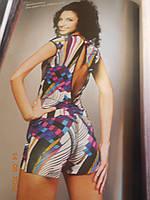 Комбинезон цветной с шортами V&V