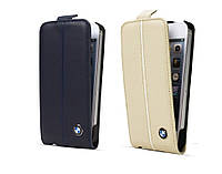 Чехол для iPhone 5 / 5S / SE - BMW Signature collection leather flip