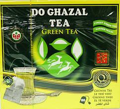 Чай зеленый Do Ghazal Tea Green Tea 100 пакетов