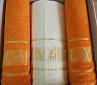 "Набор полотенец Bamboo de Luxe (2+1) / ""Чарівна Ніч"""