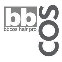 """Накидка парикмахерская с логотипом bbcos """"черная"""""""