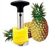 Металлический нож для очистки и нарезки ананаса Pineapple Corer Slicer