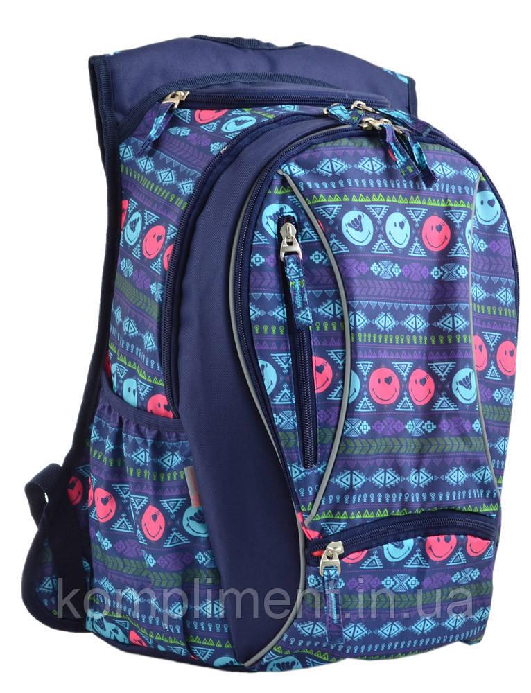 Рюкзак подростковый школьный для девочки  T-28 Play,  YES