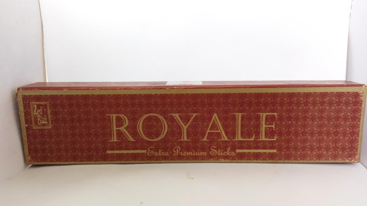Благовонные палочки Королевские 50 г., Рояле, Royale Zed Black