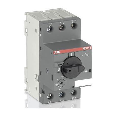 Автомат защиты двигателя ABB MS116-6,3, 1SAM250000R1009