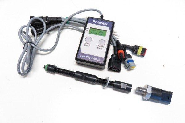 Комплект для измерения компрессии в дизельных двигателях.