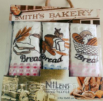"""Набор полотенец Nilens 3 шт. кухня / """"Чарівна Ніч"""""""