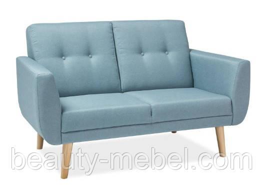Мягкий диван Signal Melia 2, голубой
