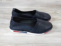 Женские мокасины Allshoes синие, фото 1