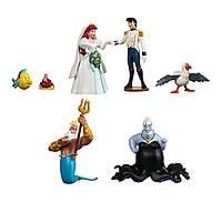 Набор фигурок Русалочка Ариель Disney The Little Mermaid Figure Set, фото 1