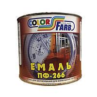 Эмаль ПФ-266 Красно-Коричневая 2.5 кг по ДЕСТу(ГОСТ)
