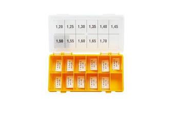 Набор регулировочных шайб VFK type CRI Ø2.5X4.5  1.20-1.70 Bosch шаг 0,05 мм