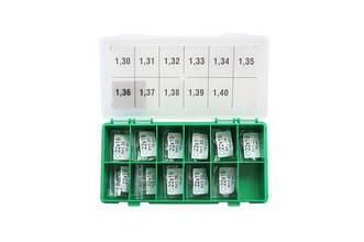 Набор регулировочных шайб  CRI-1, CRI-2.0, CRI-2.2, AHE type CRI-2,1 Ø19X23.7,  0.90-1.0,  110 Bosch шаг 0,01