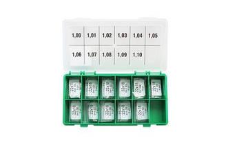 Набор регулировочных шайб AHE type CRIN1 Ø18  Es 22  1.0-1.1 Bosch шаг 0,01 мм