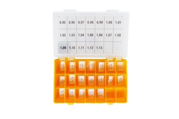 Набір регулювальних шайб AHE,RLS type CRIN2, CRIN3 Ø19.5x22.8 1.34-1.44 Bosch крок 0,02 мм