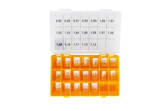 Набор регулировочных шайб AHE,RLS type CRIN2, CRIN3 Ø19.5x22.8  1.34-1.44 Bosch шаг 0,02 мм