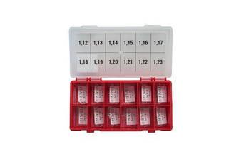Набор регулировочных шайб AHE type CRI-1, CRI2.0, CRI2.2 Ø10.5X15.7  1.12-1.23 Bosch шаг 0,01 мм