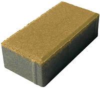"""Тротуарная плитка """"Кирпич"""" сухопрессованная, 40 мм красная, желтая, коричневая, черная"""