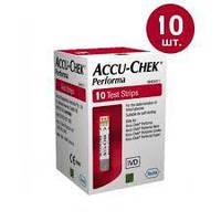 Тест-полоски Accu-Chek Performa №10