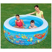 Надувной детский бассейн круглый