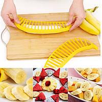 Ломтерезка - слайсер для нарезки банана пластмассовая