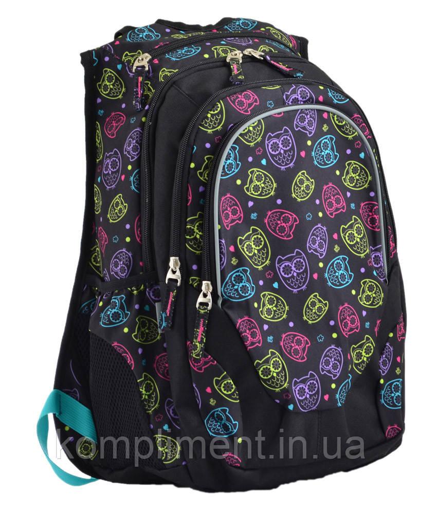Підлітковий Рюкзак шкільний для дівчинки Т-27 OWLS, YES