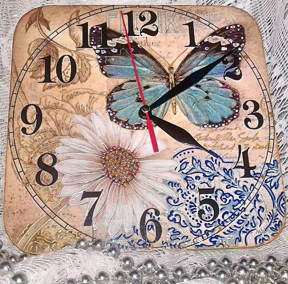 Настенный часы Бабочка