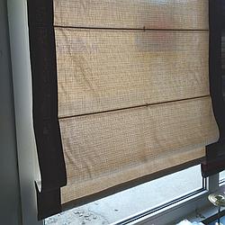 Римская штора, ткань лён